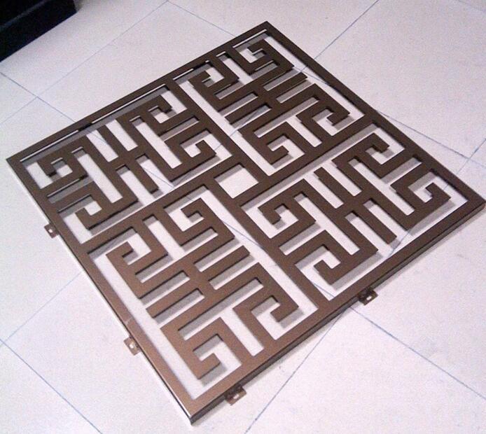 艺术雕花铝单板