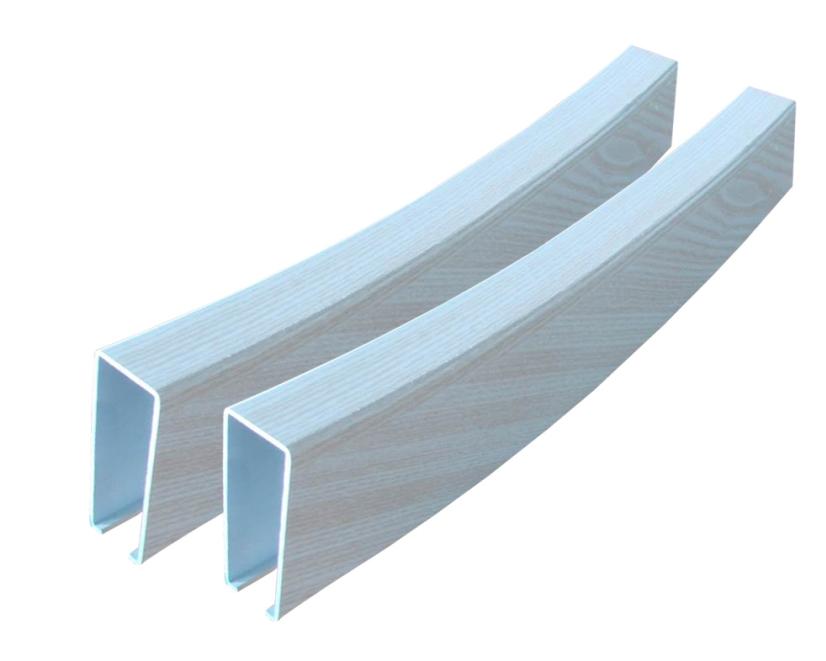 弧形铝方通吊顶