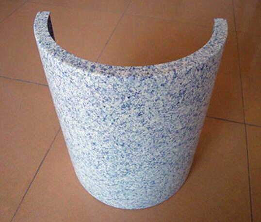 仿石纹包柱铝单板